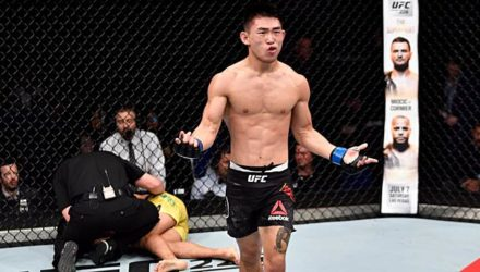Song Yadon UFC Singapore Highlights