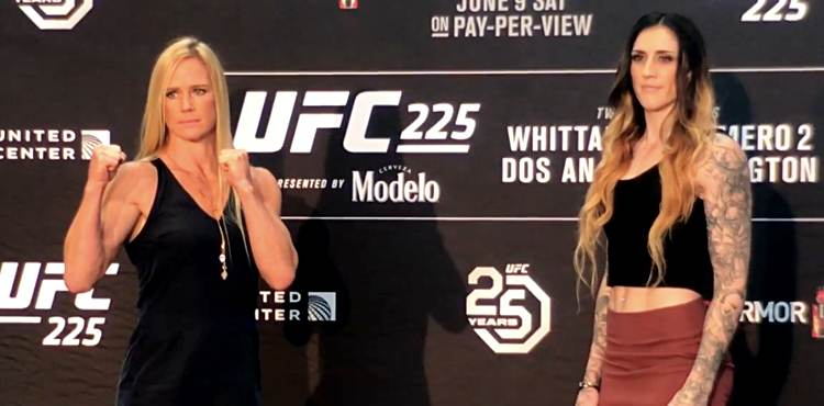 Holly Holm Routes Megan Anderson At Featherweight But