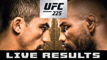 UFC 225 Whittaker vs Romero 2 Live Results