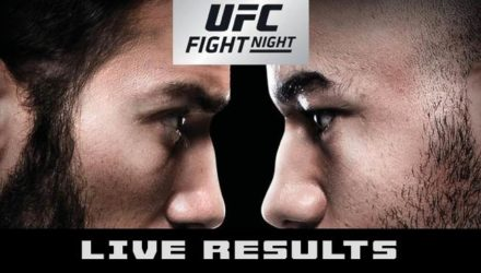 UFC Fight Night Utica Rivera vs Moraes Live Results