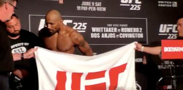 Yoel Romero misses weight twice at UFC 225 weigh-in
