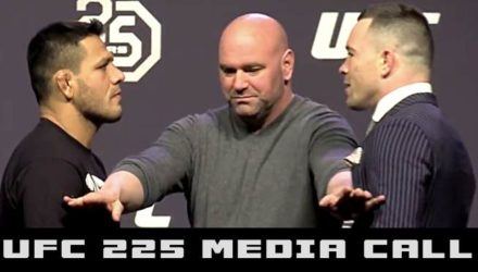 Rafael dos Anjos vs Colby Covington UFC 225 Media Call