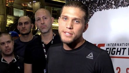Brian Ortega UFC 226 Workout Scrum
