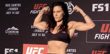 Cat Zingano UFC Boise weigh-in
