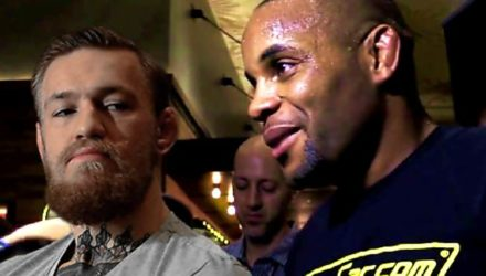 Conor McGregor and Daniel Cormier