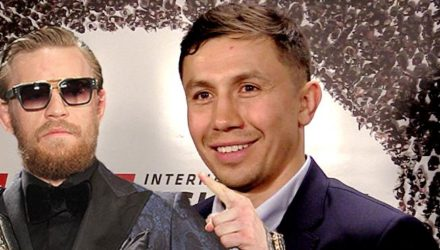 Conor McGregor and Gennady Golovkin