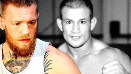 Conor McGregor and Lee Murray