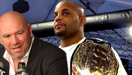 Dana White and Daniel Cormier