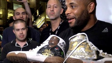 Daniel Cormier UFC 226 new shoes