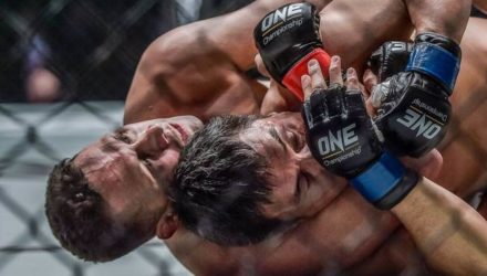 Renzo Gracie submits Yuki Kondo at ONE Championship