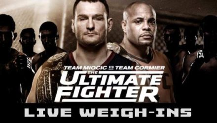 TUF 27 Live Weigh-ins
