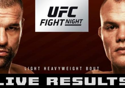 UFC Hamburg Shogun vs Smith Live Results