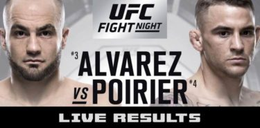 UFC on FOX 30 Live Results