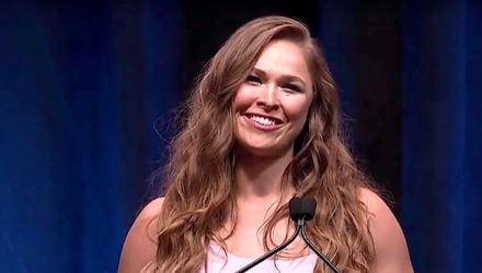 Ronda Rousey 2018 UFC Hall of Fame Induction