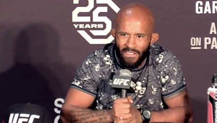 Demetrious Johnson UFC 227 post - upset