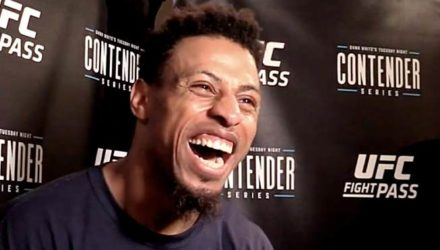 Greg Hardy laughs after DWTNCS Week 8 Win