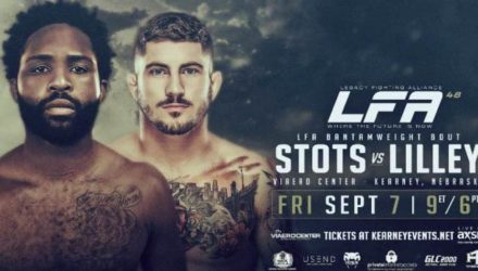 LFA 48 Stots vs Lilley fight poster