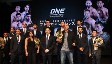ONE Championship Group - (Photo by Eliana Hiramatsu Lopes)