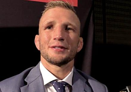 TJ Dillashaw UFC 227 Media Day