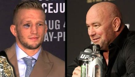TJ Dillashaw and Dana White - UFC 227