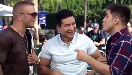 TJ Dillashaw vs Henry Cejudo on Extra with Mario Lopez