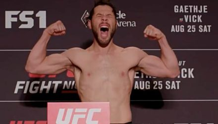 UFC Fight Night 135 Lincoln Weigh-in Video