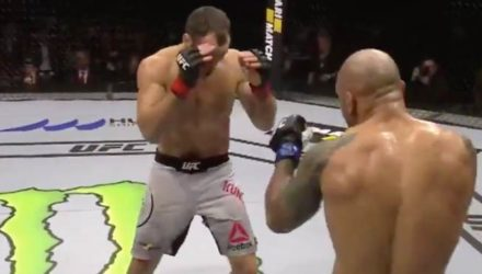 Alexey Kunchenko UFC Moscow fight highlights