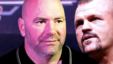 Dana White and Chuck Liddell