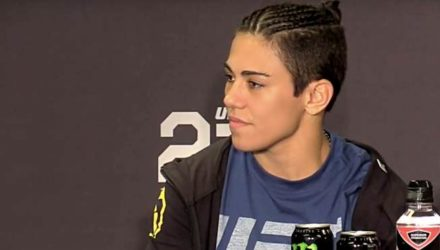 Jessica Andrade UFC 228 post-fight