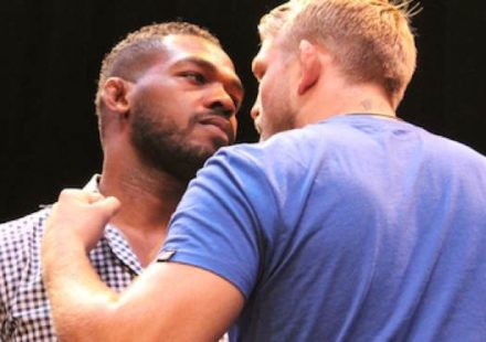 Jon Jones vs Alexander Gustafsson UFC Tour Faceoff
