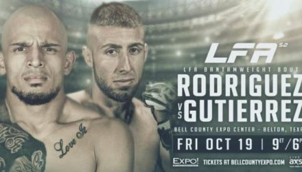 LFA 52 Rodriguez vs Gutierrez Fight Poster