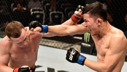 Peter Yan UFC Moscow fight highlights