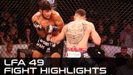 Sean Brady defeats Gilbert Urbina LFA 49 highlights