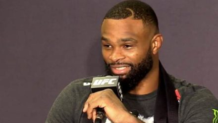 Tyron Woodley UFC 228 post-fight