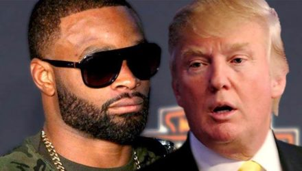 Tyron Woodley and Donald Trump