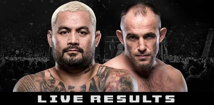 UFC Moscow Hunt vs Oleinik Live Results