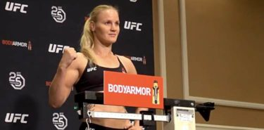 Valentina Shevchenko UFC 228 weigh-in