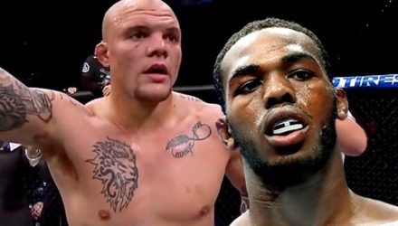 Anthony Smith and Jon Jones