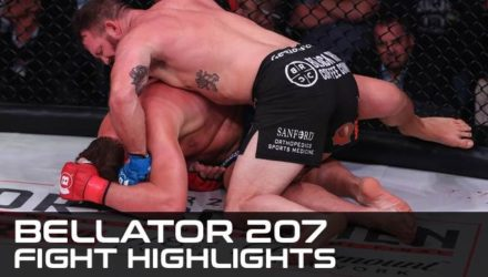 Bellator 207 Fight Highlights