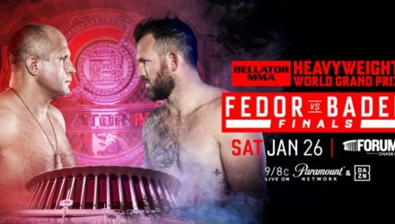 Bellator Fedor vs Bader Heavyweight Grand Prix Final Poster