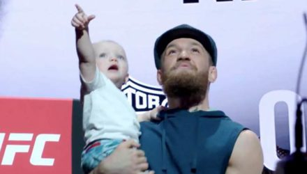 Conor McGregor and son - UFC 229 Embedded