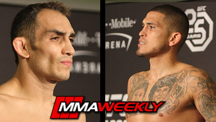 Tony Ferguson and Anthony Pettis UFC 229 Official Weigh-in