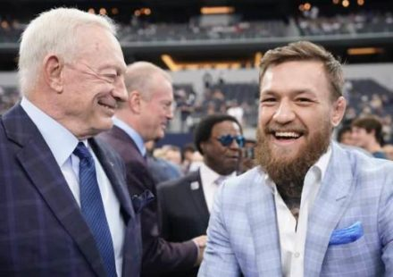 Jerry Jones and Conor McGregor - Dallas Cowboys