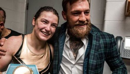 Katie Taylor and Conor McGregor