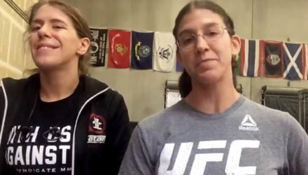 Roxanne Modafferi and anger translator - UFC 230