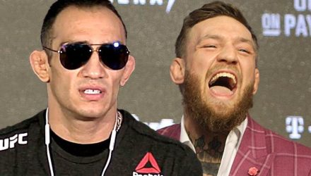 Tony Ferguson snears at Conor McGregor