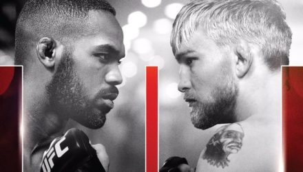 UFC 232 Jones vs Gustafsson 2 Fight Poster
