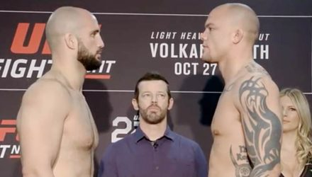 Volkan Oezdemir vs Anthony Smith - UFC Moncton Face-Off