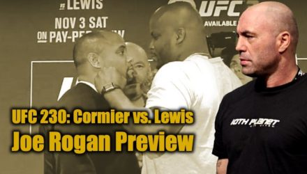 Joe Rogan Previews UFC 230 Cormier vs Lewis