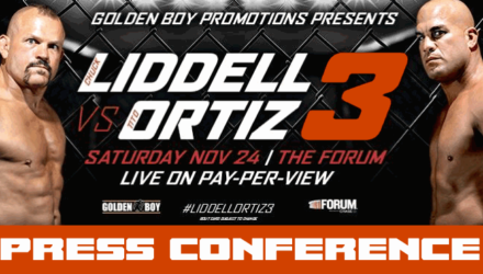 Liddell vs Ortiz 3 Press Conference